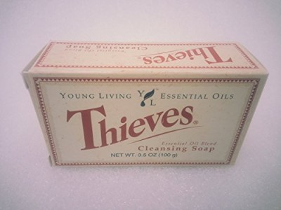 Young Living Thieves Essential Oil Cleansing Soap by Essential Oils