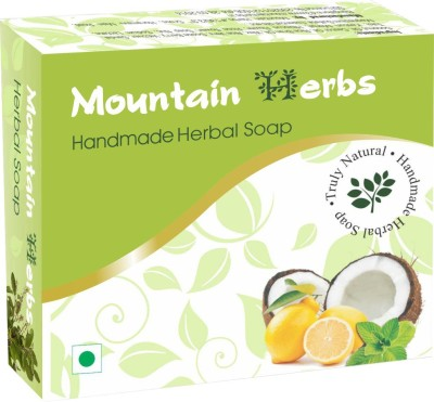 Mountain Herbs Handmade Natural Soaps (5 soaps of 90 g each)