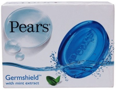 Pears Mint Blue Soap Imported (Pack Of 3)