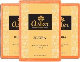 Aster Luxury Jojoba Bathing Bar - Pack of 3