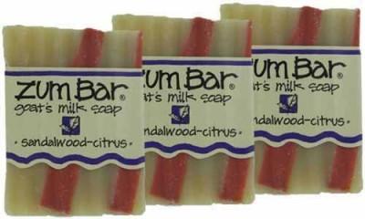 Indigo Wild : Zum Bar Goat's Milk Soap Sandalwood & Citrus (3 pack)