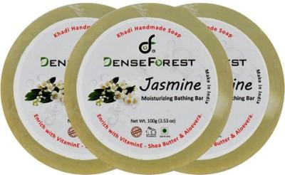 Dense Forest Khadi Jasmine Soap (Pack of 3)