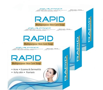Rapid Multipurpose Skin Care Soap - Pack of 3