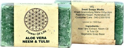 FLOWER OF LIFE -KHADI ALOE VERA NEEM & TULASI SOAP