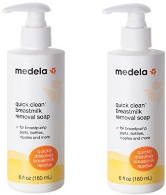 Medela Quick Clean Breastmilk Removal Soap 2 Bottles