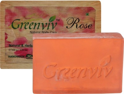 Greenviv Natural Rose Soap