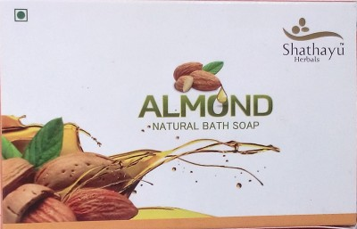 Shathayu Herbals Almond Natural Bath Soap