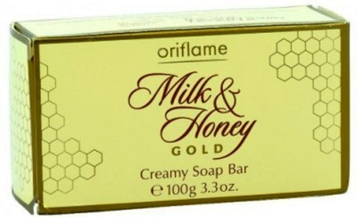 Oriflame Honey And Gold Creamy Bar(Pack Of 3)