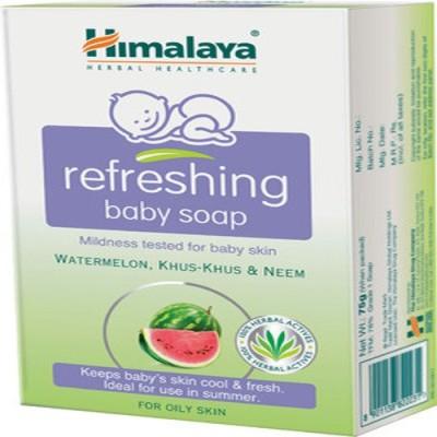 Himalaya Baby Refrshing Soap-75g (Pack Of -2)