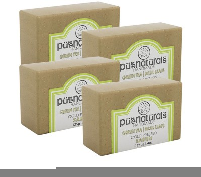 Purenaturals Hand Made Soap Green Tea(125 g)