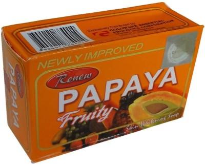 Renew Papaya Fruity Soap For Skin Whitening 3Pc