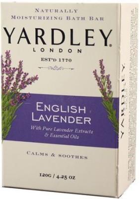 Yardley London London Soap Bath Bar, English Lavender & Essential Oils, 4.2 120 G(120 g)