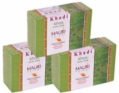 Khadimauri Khas Soap - Pack of 3 - Premium Handcafted Herbal