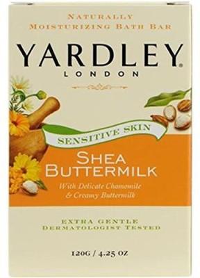 Yardley London Botanical Shea Butter Milk Sensitive Skin Soap(120.445 g)