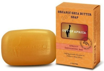 Out of Africa Organic Shea Butter Bar Soap - Apricot Exfoliating
