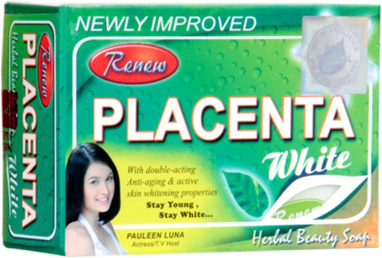 Renew Placenta White Herbal Beauty Skin Whitening Soap(135 g)