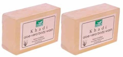 Khadimauri Aloe Vera Soap - Pack of 2 - Premium Handcafted Herbal
