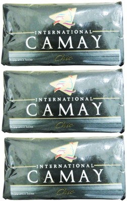 Camay International Fragrance Soap 125g*3