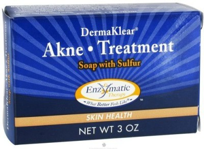 47krate Enzymatic Therapy - Derma Klear Akne Treatment Soap (Pack of 4)