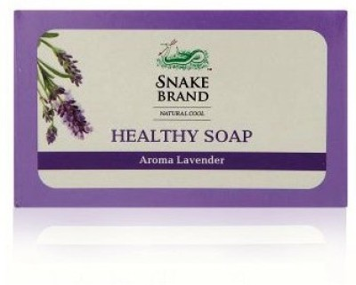 Snake Brand AROMA LAVENDER Healthy Soap (Pack Of 3)