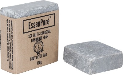 EssenPure Sea Salt & Charcoal Soap