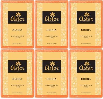 Aster Luxury Jojoba Bathing Bar - Pack of 6