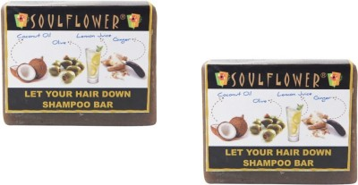 Soulflower Let your hair down shamboo bar combo