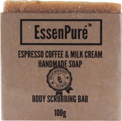 EssenPure Coffee & Milk Cream Handmade Soap