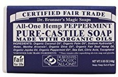 Dr. Bronner's Magic Soaps: Pure Castile Bar Soap Peppermint (8 pack)