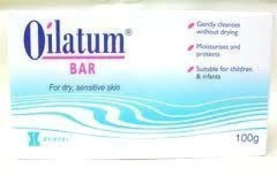 Oilatum Bar Soap for Sensitive Soap Skin Free Shipping