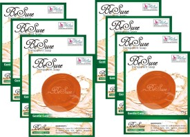 Besure Gentle Care Transparent Soap Pack Of 8