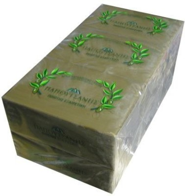 Papoutsanis Pure Greek Olive Oil Soap 6 PACK