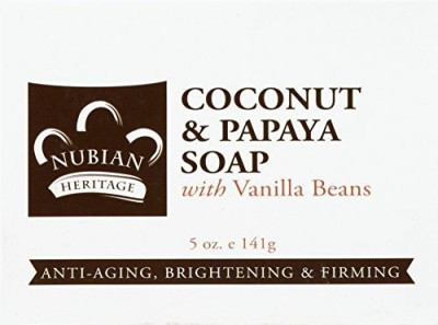 Nubian Heritage Bar Soap Coconut And Papaya ( Multi-Pack)