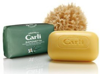 Fratelli Carli Olive Bar Soap Six bars.