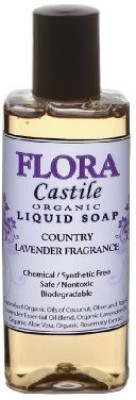Flora Castile Liquid Organic Soap - Country Lavender
