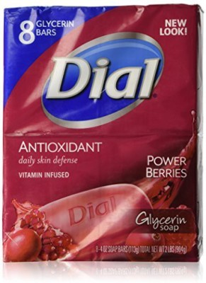 Dial Bar Soap - Mixed Berries