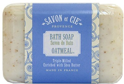 Ton Savon Cie Triple Milled Soap bar. Made in France. With Organic Shea Butter - Oatmeal
