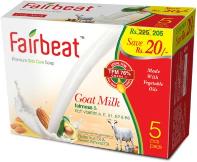 Fairbeat Licorice Soap-Enriched With Butter Fruit& Sweet Almond Oil