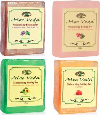 Aloe Veda Bathing Bar Combo 119