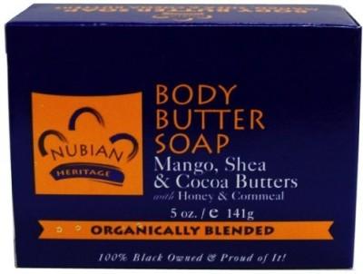 Nubian Heritage Bar Soap Mango Butter