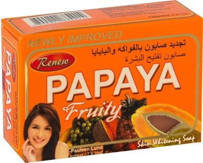 Nunnnuskincare renew papaya fruity skin whitening soap 101% original