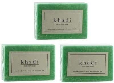Khadi Herbal NaturalNeem Soap -pack of 3