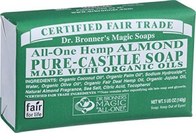 Dr. Bronner's Castile Bar Soap