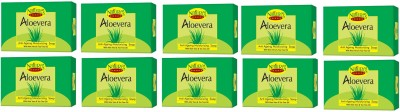Natures Essence Alovera Soap 75GM (Set of 10)
