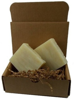 YANKEETRADERS Wood and Clove Soap - All Natural Vegan Handmade / 2 Bars