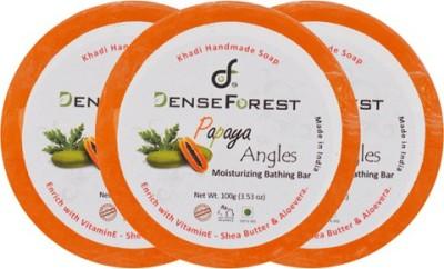 Dense Forest Papaya Angles Khadi Soap