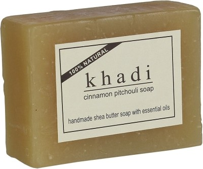 khadi Natural Cinnamon Pitchouli Soap (With Shea Butter)