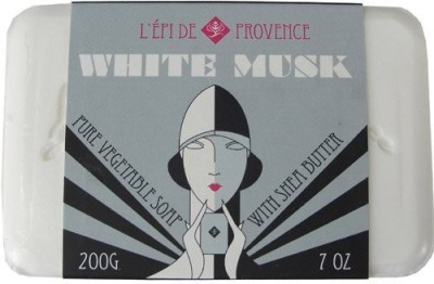 L,Epi de Provence White Musk Vegetable Shea Butter Soap
