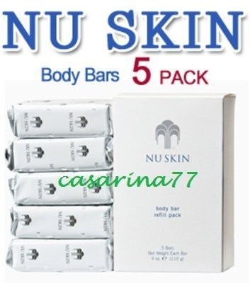 NuSkin/ Pharmanex Nuskin Nu Skin Body Bar (5 pack)