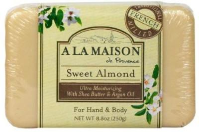 A La Maison Solid Bar Soap Sweet Almond(249.392 g)